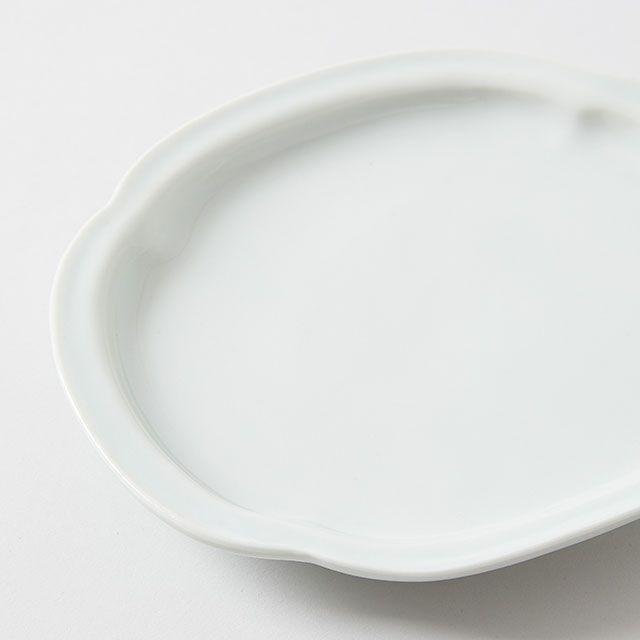 鍔型皿 / 九谷青窯