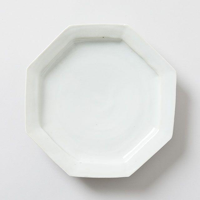 八角 7寸皿 / 九谷青窯