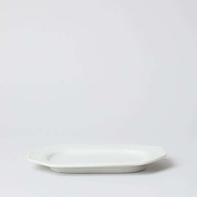 八角長皿 小 / 九谷青窯