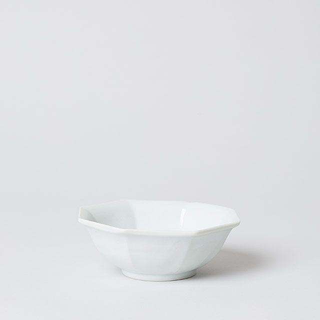 八角 反り鉢 小 / 九谷青窯