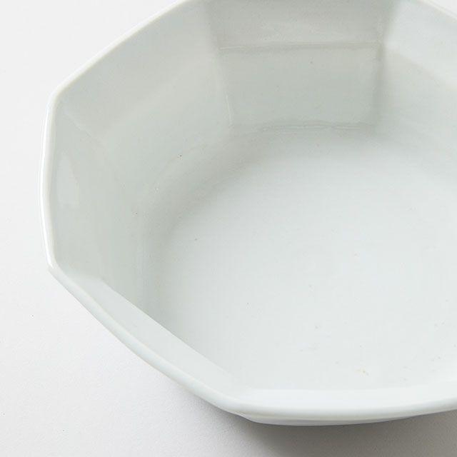 八角反り鉢 大 / 九谷青窯
