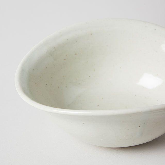 たわみ小鉢 粉引 / 丸十製陶×TODAY'S SPECIAL
