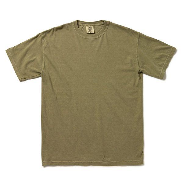 Comfort Colors アダルト リングスパンTシャツ M カーキ