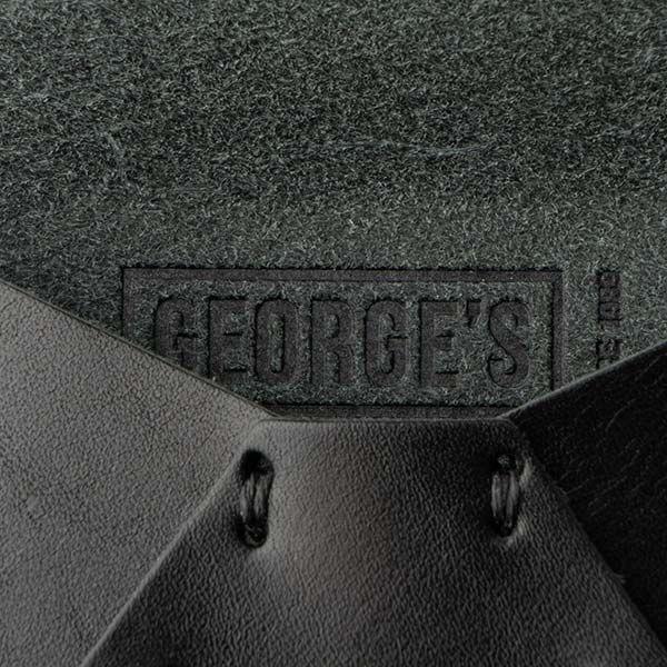 GEORGE'S レザーカードケース ブラック