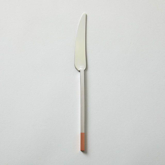 工房アイザワ 純銅のカトラリー ナイフ (純銅洋食器 銀仕上)