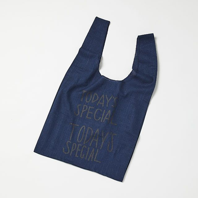 JUTE COLORED MARCHE BAG/ジュート カラード マルシェバッグ