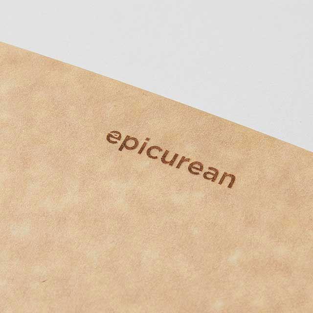 epicurean/エピキュリアン カッティングボード M ブラック
