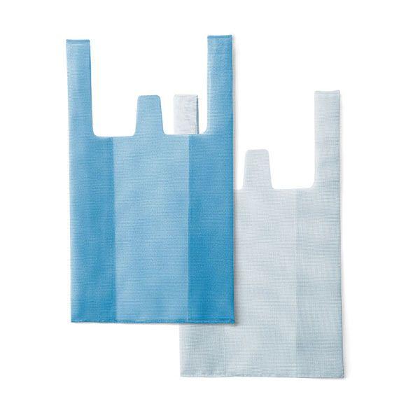 CONVENI BAG / コンビニバッグ ブルー×ホワイト
