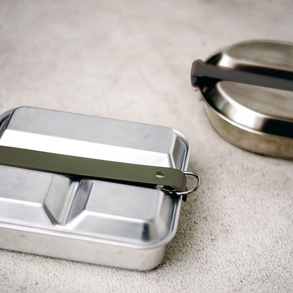 MESS KIT PAN / メスキットパン ラウンド スチール