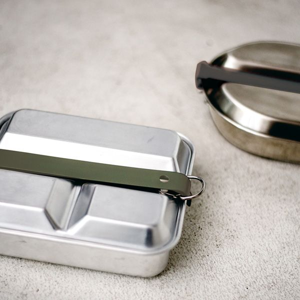 MESS KIT PAN/メスキットパン スクエア アルミニウム