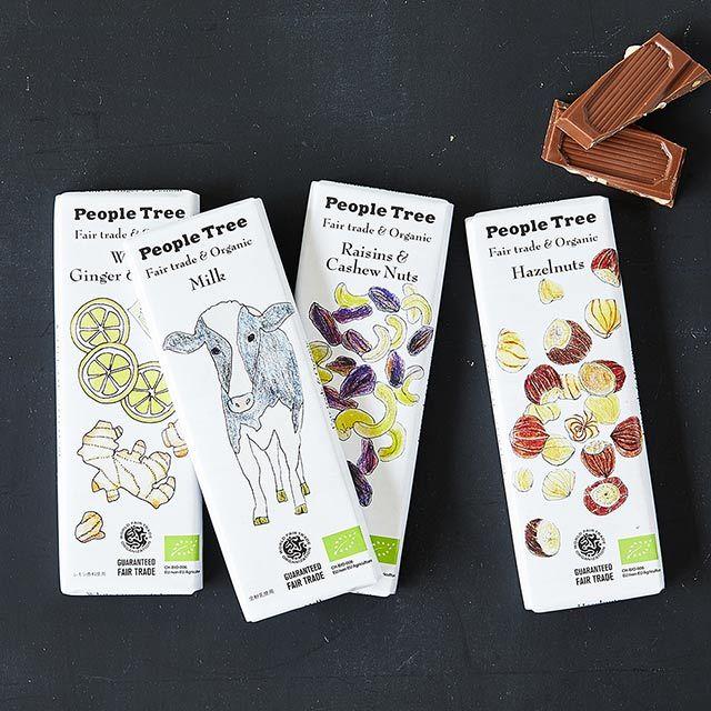 フェアトレードチョコレート レーズン&カシューナッツ People Tree/ピープルツリー