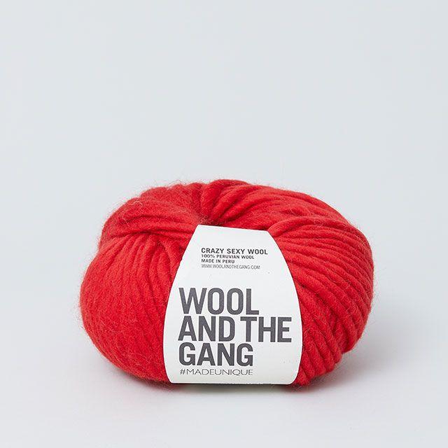 キット|ニット帽|レッド WOOL AND THE GANG/ウール アンド ザ ギャング