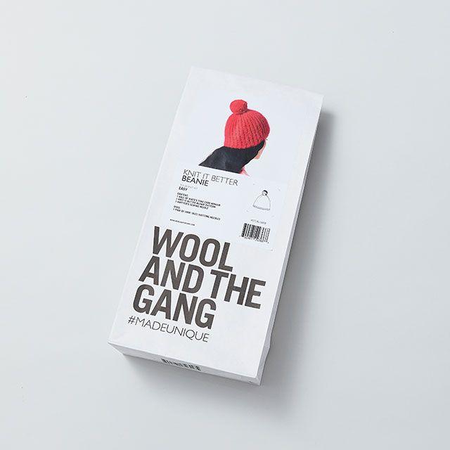 キット|モヘアニット帽|ラテ WOOL AND THE GANG/ウール アンド ザ ギャング