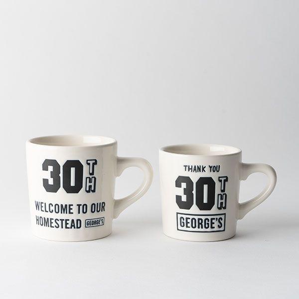 GEORGE'S 30thマグ L 1989