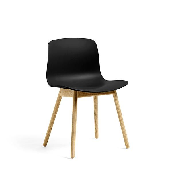 ABOUT A CHAIR / AAC12 CLEAR LACQUERED OAK ブラック