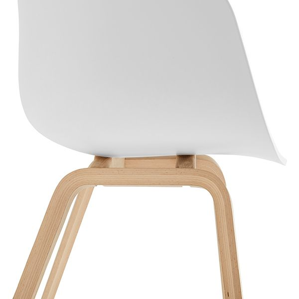 ABOUT A CHAIR / AAC22 CLEAR LACQUERED OAK ホワイト