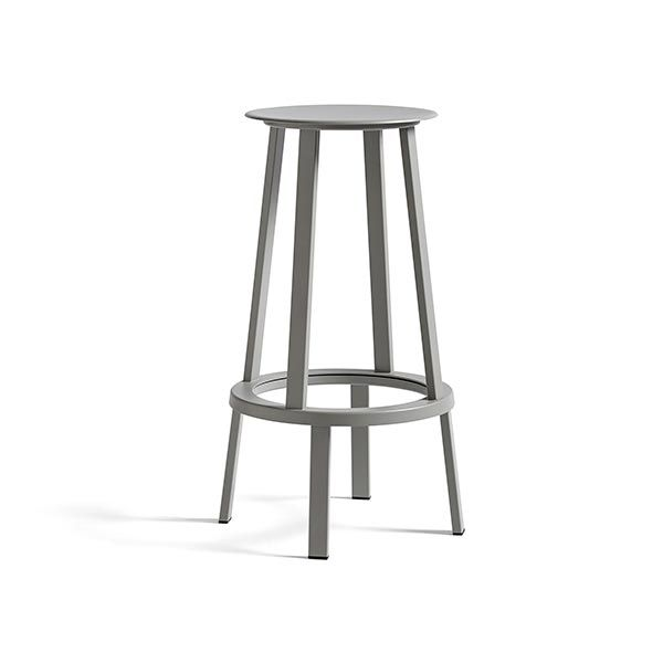 REVOLVER BAR STOOL HIGH スカイグレー