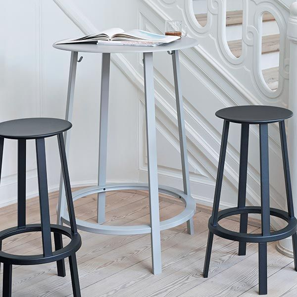 REVOLVER BAR STOOL LOW ブラック