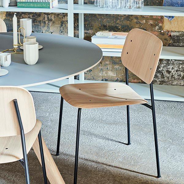 COPENHAGUE / CPH20 ラウンドテーブル CLEAR LACQUERED OAK オフホワイト