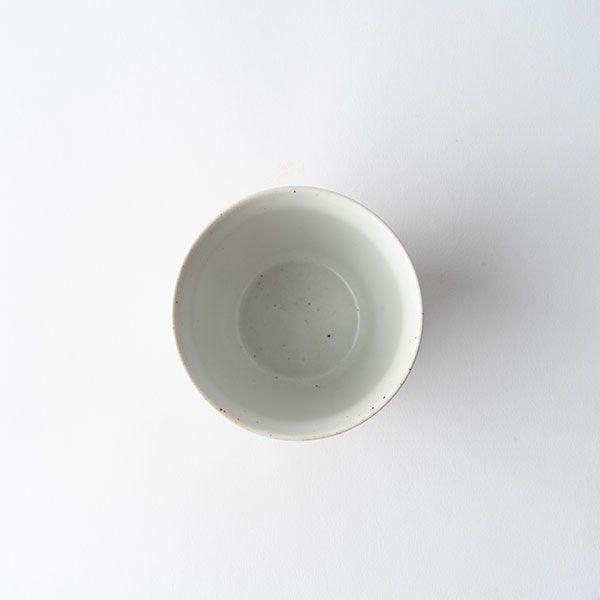 面取り焼酎タンブラー 白