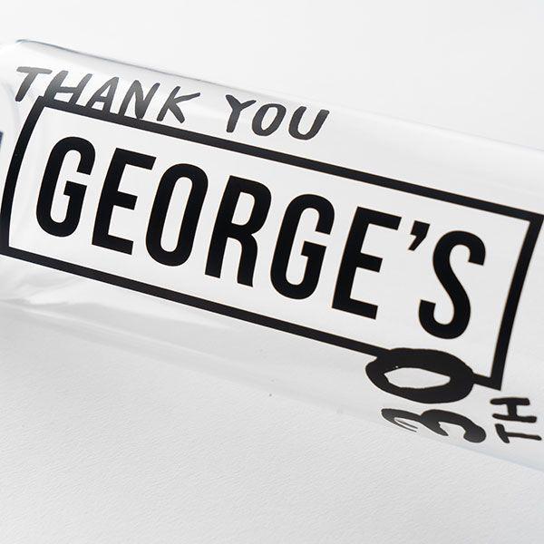 GEORGE'S ボトル THANK YOU