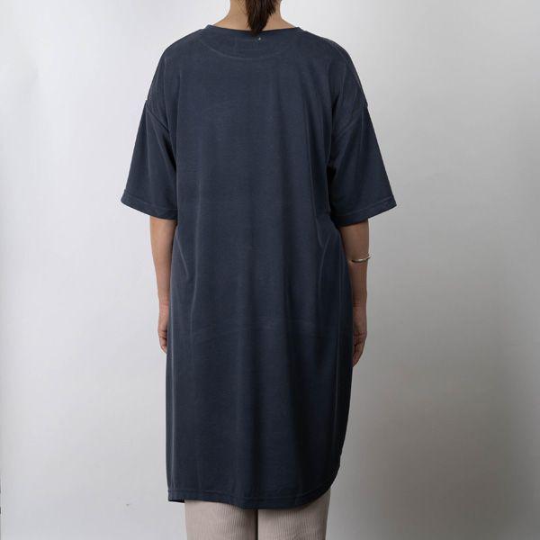 カノコ イレヘムTシャツ ネイビー