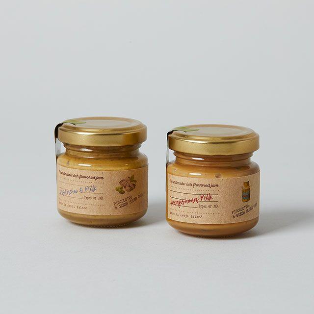 【2点セット】ミルクジャム2種 / PICCOLOTTO & GREEN HOUSE Café