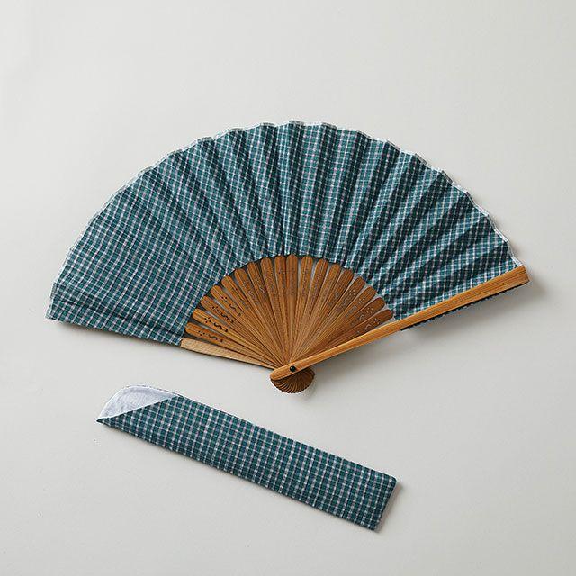 播州織物扇子 D