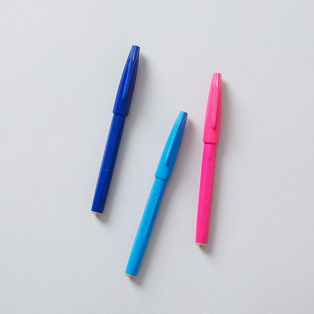 【3色SET】ぺんてる サインペン