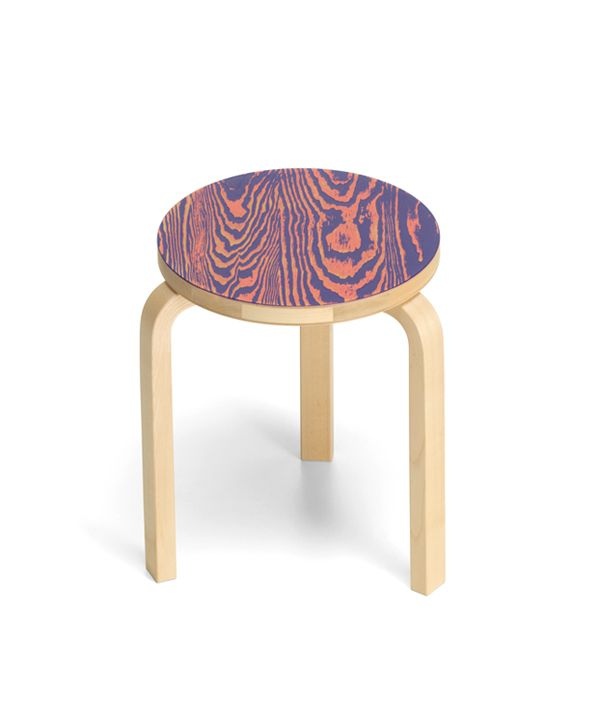 Stool 60 ColoRing / Pink×Purple