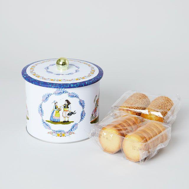 La Trinitaine/ラ・トリニテーヌ バレル缶 花
