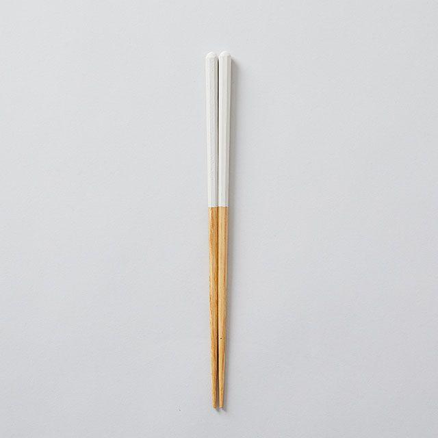 栗の塗り箸 白 / かのりゅう×TODAY'S SPECIAL