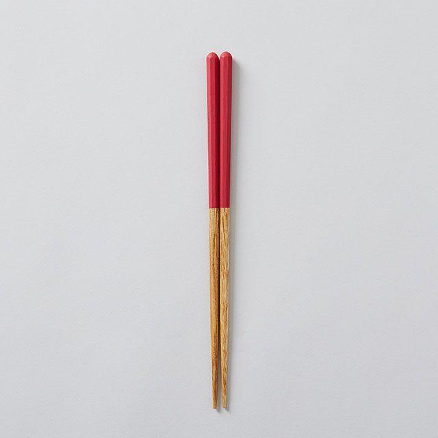 栗の塗り箸 茜 / かのりゅう×TODAY'S SPECIAL