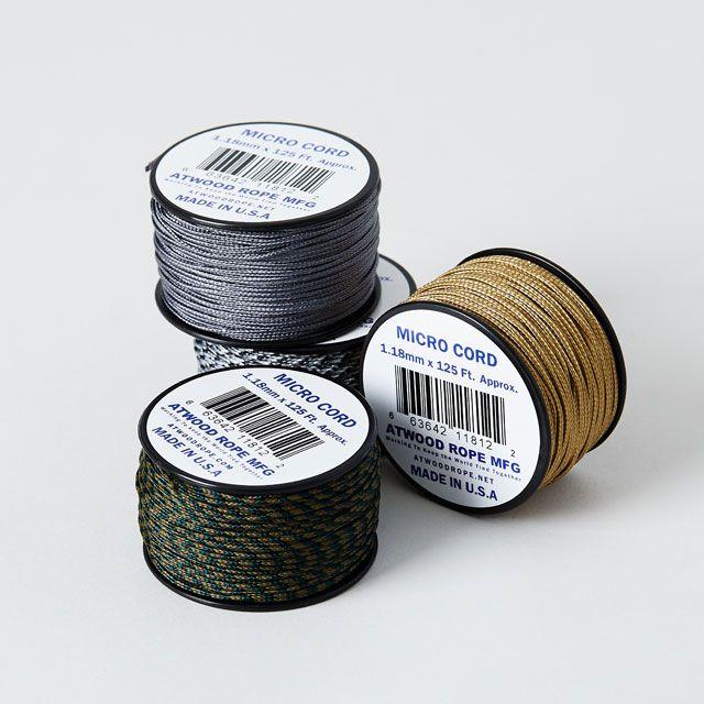 Atwood Rope MFG./アットウッドロープ アウトドアコード アーバンカモ