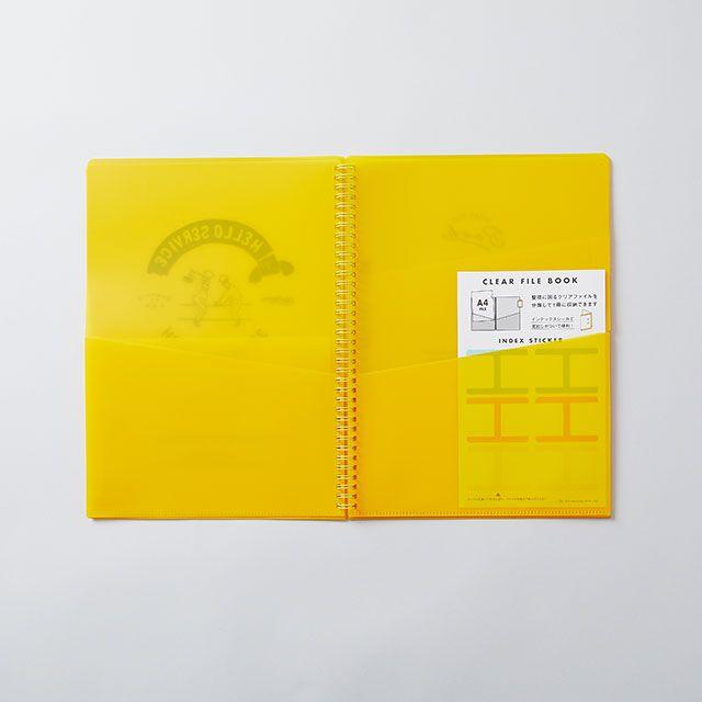 CHALKBOY ファイルケースブックA4 イエロー