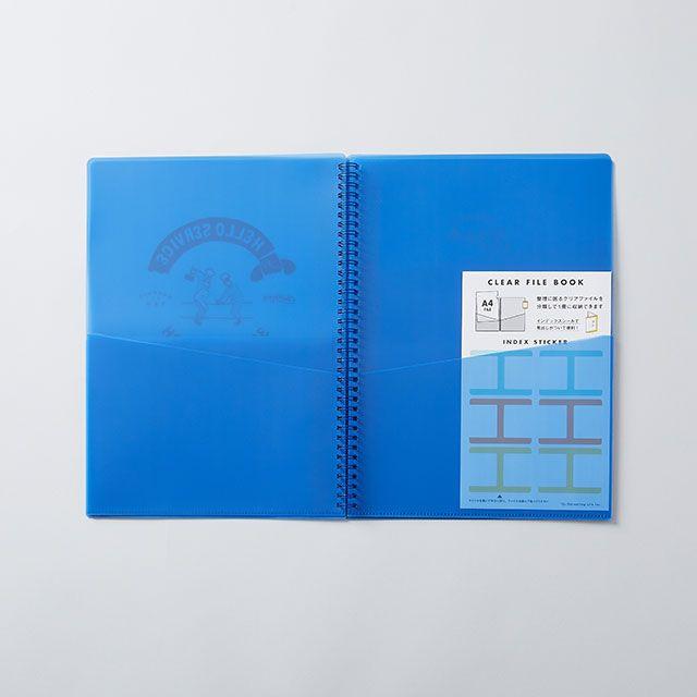 CHALKBOY/チョークボーイ ファイルケースブックA4 ブルー