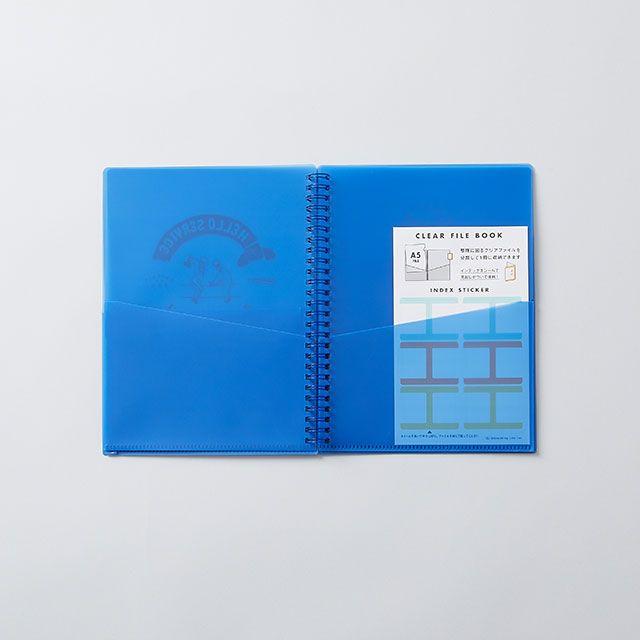 CHALKBOY ファイルケースブックA5 ブルー