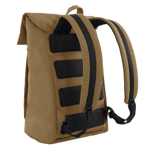MHWAY BELL フラップ付きバッグパック M キャメル