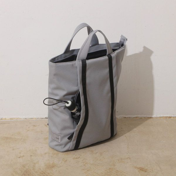 MHWAY BELL TOTE BACKPACK ブラック