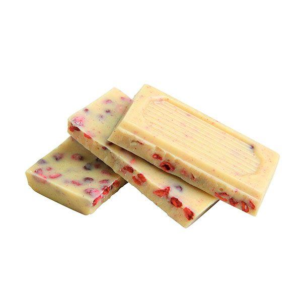 フェアトレードチョコレート 50g ホワイトラズベリー スペシャルパッケージ