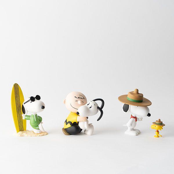 PEANUTS フィギュア チャーリー・ブラウン&スヌーピー