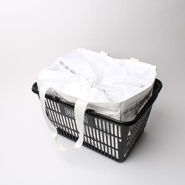 タイベック グローサリー クールバッグ  ホワイト