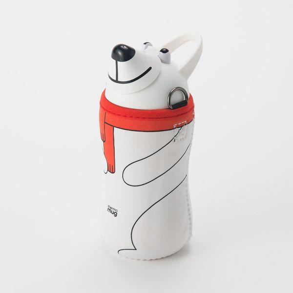 thermo mug アニマルボトル ホワイト