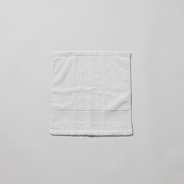 ハンドタオル ホワイト / menca sprout