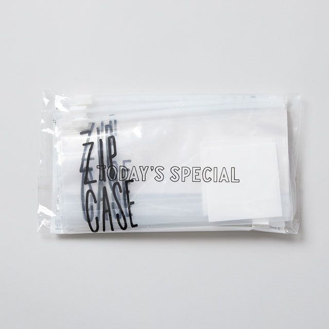 【50枚入り】TODAY'S SPECIAL ZIP CASE M