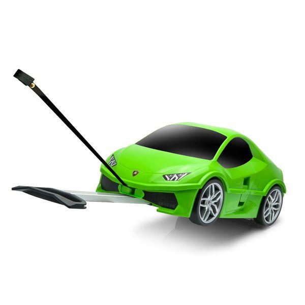 キッズキャリーカート ランボルギーニ グリーン