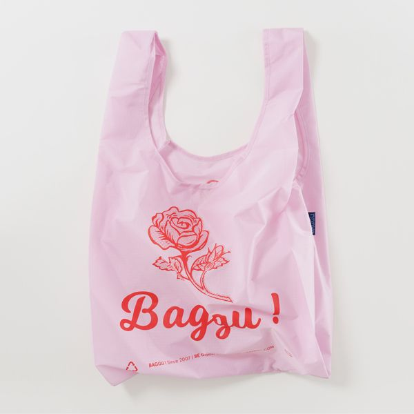 BAGGU Standard Bag Thank you ローズ