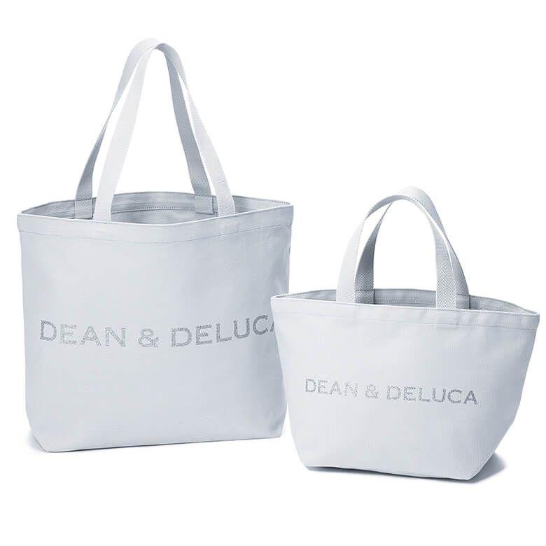 DEAN & DELUCA チャリティートート2019 スノーブルーLサイズ