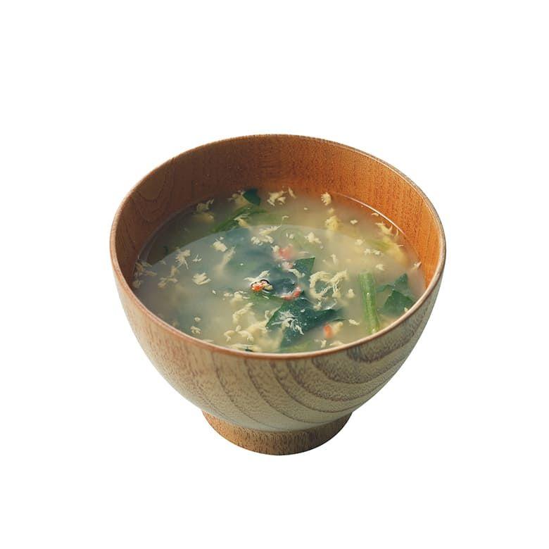【オンラインストア限定】DEAN & DELUCA 蟹と玉子とホウレン草の味噌汁4個セット