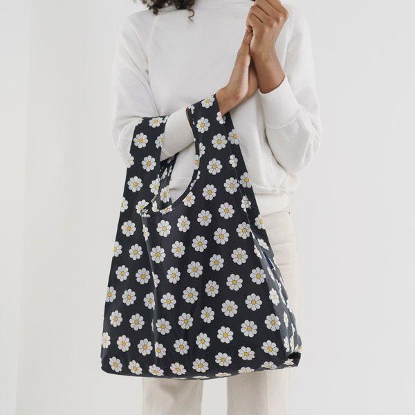 BAGGU Standard Bag ブラックデイジー